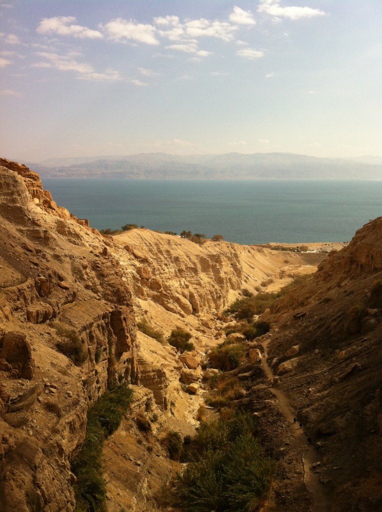 Photo of Dead Sea and Heights of Moab (Kingdom of Jordan)