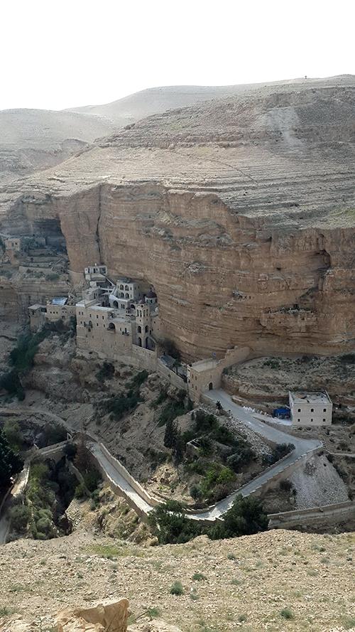 St. George Monastery in Wadi Qelt Photo