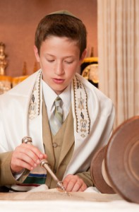 bar mitzvah boy photo